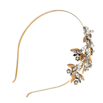 Falling Leaves Headband Naugi Tiaras
